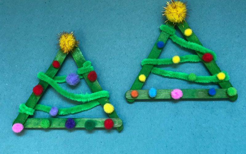 Homemade Christmas Tree Decorations