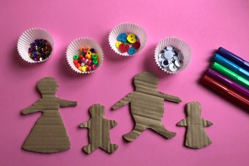 Cardboard Gingerbread People