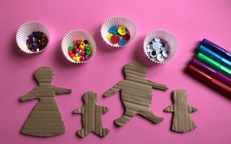Cardboard Gingerbread People