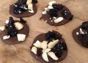Fruit and Nut Chocolate Drops