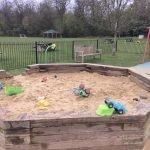Sandpit at Broomhall Recreation Ground