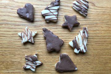 Christmas Marzipan Treats