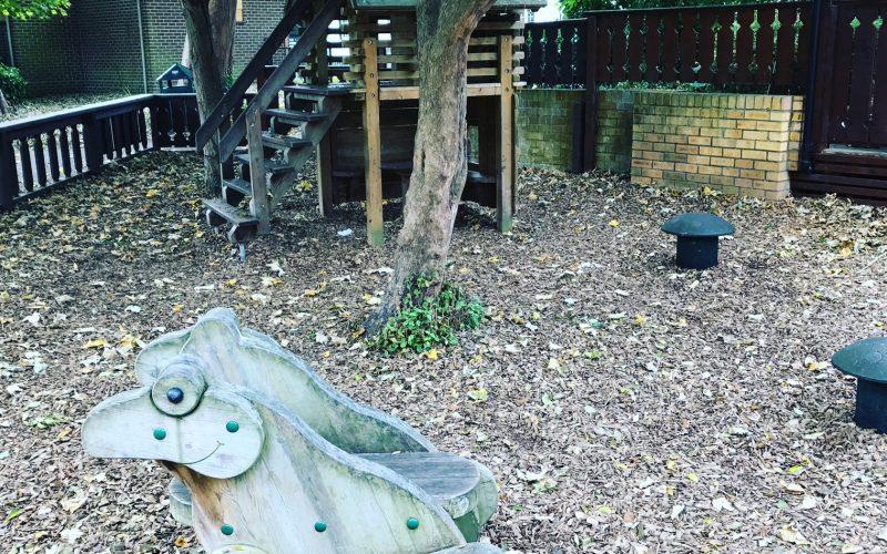 Playground at Ray Mill Island