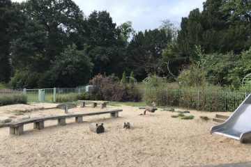 Toddler Park at South Hill Park
