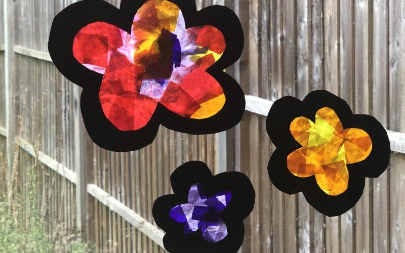 Flower Sun Catchers