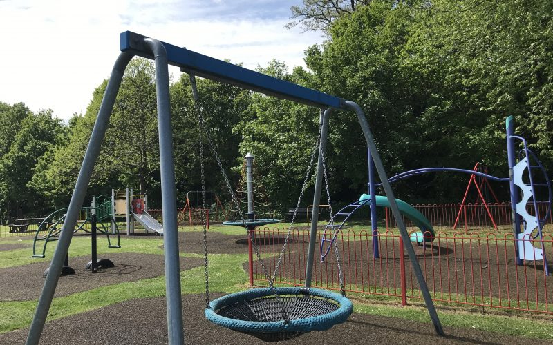Allsmoor Field and Play Area in Martins Heron