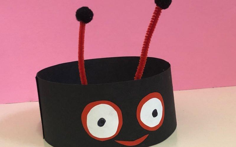 Make a Ladybird Headband