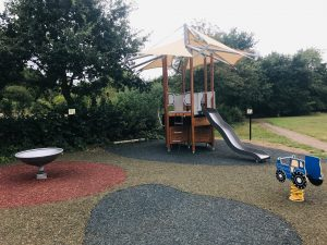 Play Area at Pope's Meadow in Binfield