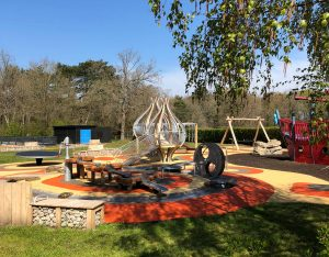 Play Area at California Country Park in Wokingham