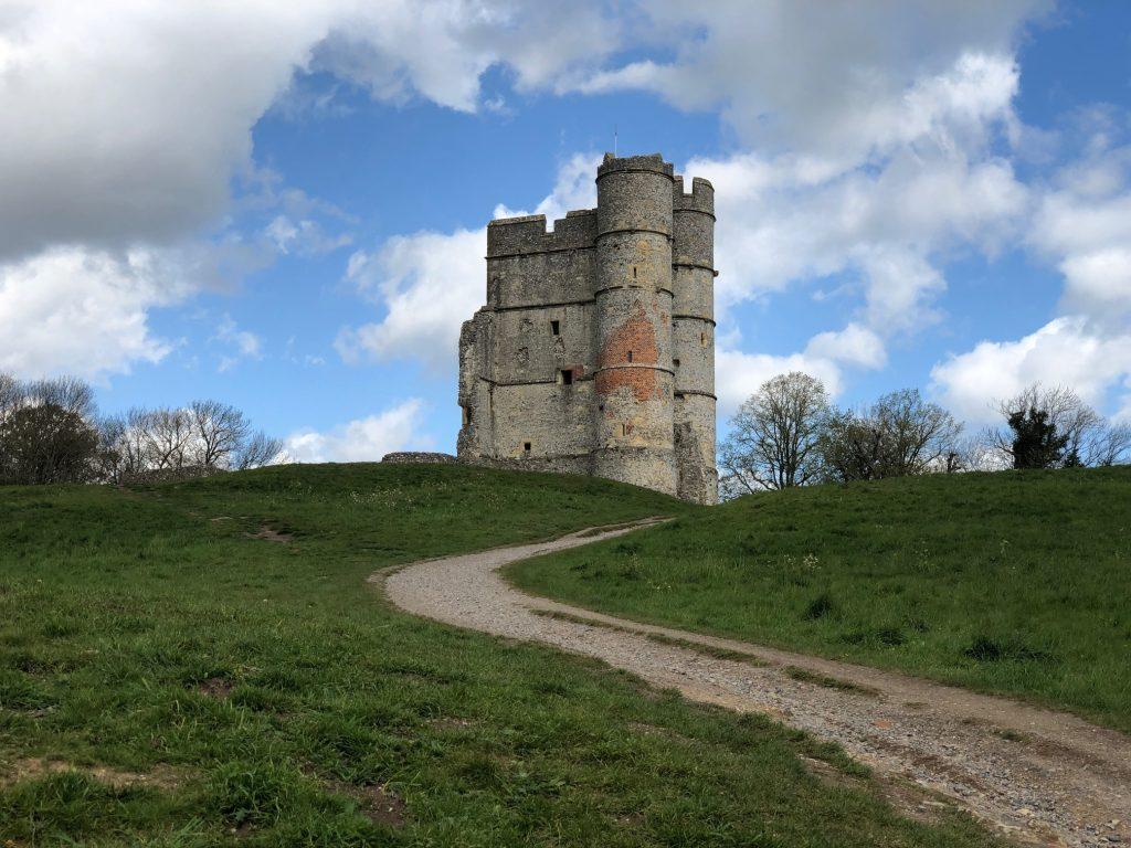 Visiting Donnington Castle near Newbury