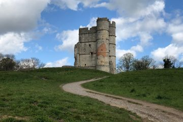 Visiting Donnington Castle near Newbury