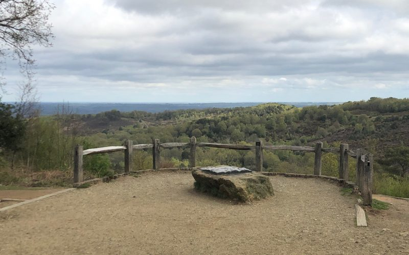 Walking at Hindhead Commons and the Devil's Punchbowl