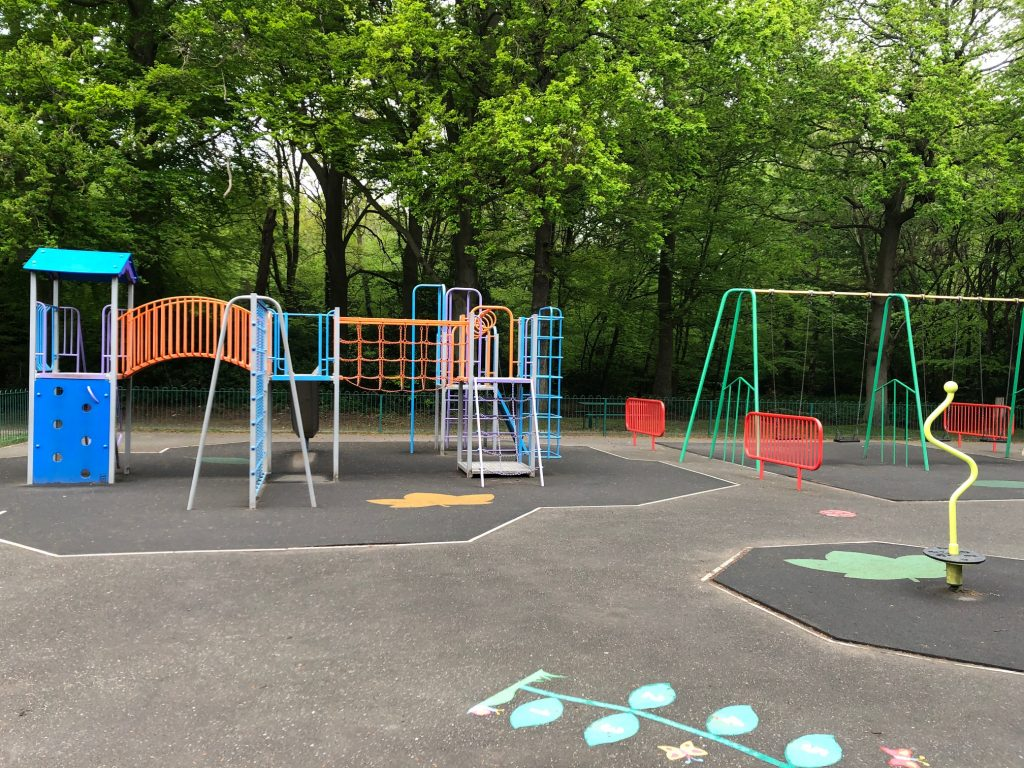 Play Area at Windlesham Field of Remembrance
