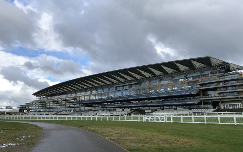 Walking at The Heath at Ascot Racecourse