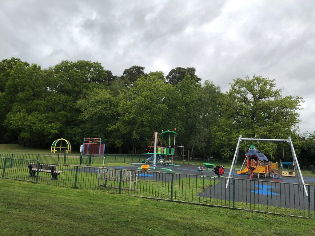New play area at Ascot Jubilee Recreation Ground